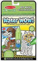 Melissa & Doug NEW Water Wow! Pet Mazes Colouring Pad