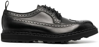 Officine Creative Lydon leather Oxford shoes