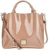 Dooney & Bourke Small Patent Leather Satchel-Brenna