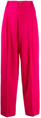Alysi High-Rise Straight Trousers