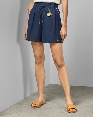 Ted Baker MICROM Printed paperbag shorts