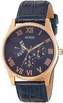 GUESS GUESS? R.GUESS VENTURE PVD.ROS.ESF.COR.AZUL Men's watches W0608G2