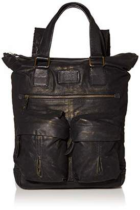 Frye Scout Waxed Canvas Tall Backpack