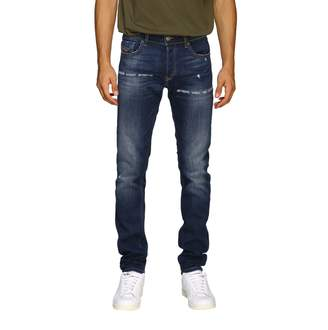 Diesel Stretch Skinny Jeans In Denim With 5 Pockets