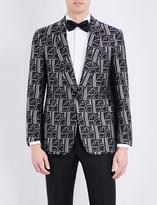 Ralph Lauren Purple Label Art Deco silk tuxedo jacket