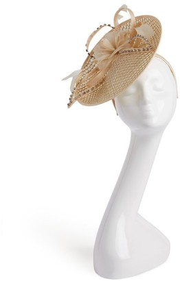 Peter Bettley Studded Ribbon Disk Hat
