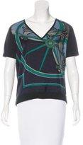 Hermes Washington's Carriage Silk Top