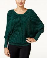Thalia Sodi Dolman-Sleeve Metallic Sweater, Only at Macy's