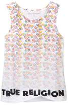 True Religion Sponge Flower Tank (Big Girls)