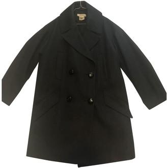 Isabel Marant Pour H&m Grey Wool Coat for Women