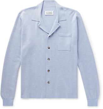 Maison Margiela Melange Wool Shirt