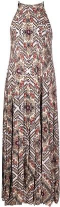 MICHAEL Michael Kors Paisley-Print Pleated Dress