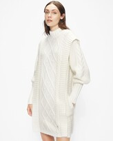 Thumbnail for your product : Ted Baker Cable Knit Sweater Dress