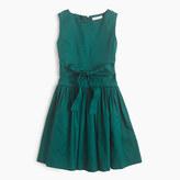 J.Crew Girls' sateen bow dress