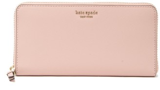 Kate Spade cameron large leather continental wallet