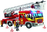 Playmobil Fire Truck Ladder Unit with Lights & Sounds Playset - 5362