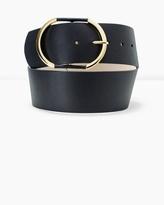 White House Black Market Wide Leather Belt