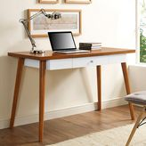 Walker Edison 48-Inch Mid-Century Wood Computer Desk