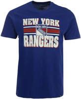 '47 Men's New York Rangers Stripe Knockaround Club T-Shirt