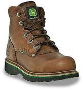 "John Deere 6"" Safety Toe Met Guard Work Boots Casual Male XL Big & Tall"