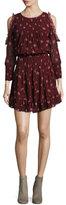 Joie Arleth Floral-Print Pleated Dress