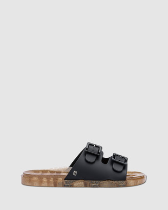 Melissa Women's Black Slides Wide Slides - Size One Size, 37 at The Iconic