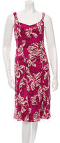 Piazza Sempione Sleeveless Patterned Dress