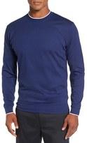 Bobby Jones Men's 'Walker' Tipped Pima Cotton Long Sleeve T-Shirt