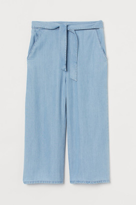 H&M Lyocell Culottes - Blue