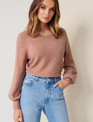 Ever New Elissa Blouson Sleeve Wool-Blend Sweater