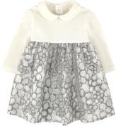Il Gufo Bi-material dress