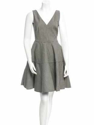 No.21 No. 21 Sleeveless Gingham Dress w/ Tags Black No. 21 Sleeveless Gingham Dress w/ Tags