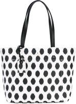 Kate Spade polka dot print tote - women - Leather/PVC - One Size