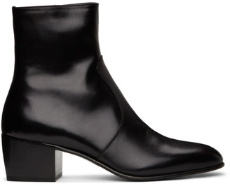 Saint Laurent Black James Boots