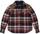 DSQUARED2 Plaid Cotton Flannel & Nylon Jacket
