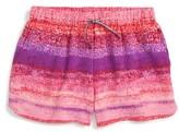 Calvin Klein Girl's Print Drape Shorts