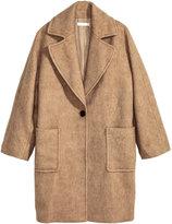 H&M Wool-blend Coat - Beige - Ladies