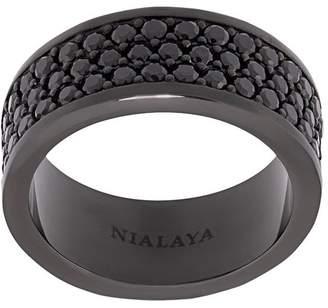 Nialaya Jewelry Trio-Row ring