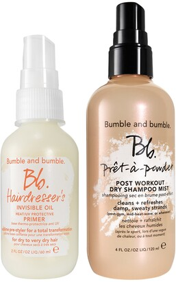Bumble and Bumble Sweat + Refresh Dry Shampoo and Hair Primer Set