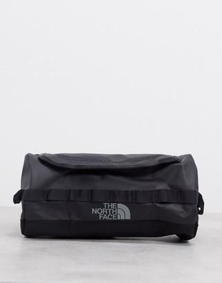 The North Face Base Camp travel cannister large wash bag in black