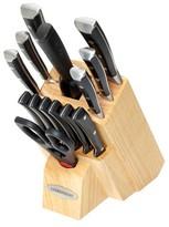 Farberware Cutlery Forged Triple Rivet 15 Piece Knife Block Set