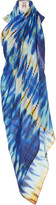 Figue Tie-Dyed Cotton-Voile Pareo