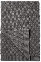 John Lewis Croft Collection Cotton Chain Knit Throw