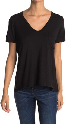 Lush Scoop V-Neck T-Shirt