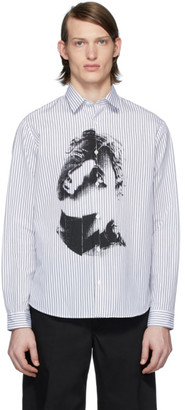 McQ White and Black Sheehan 20 Shirt