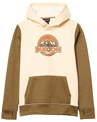 Burton Oak Pullover Hoodie (Little Kids/Big Kids) (Gray Heather) Kid's Clothing