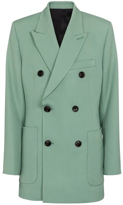 AMI Paris Double-breasted wool blazer