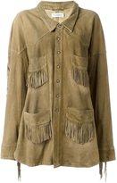 Faith Connexion fringed pocket jacket