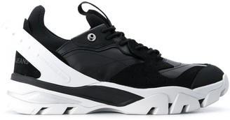 Calvin Klein Low-Top Panelled Sneakers