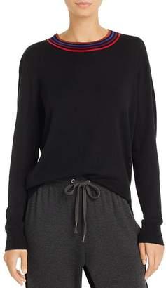 Splendid Brighton Striped-Neck Sweater